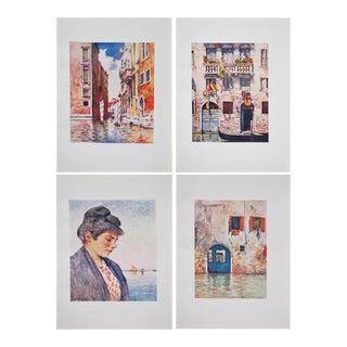 Antique Venice Prints by M. Menpes- Set of 4