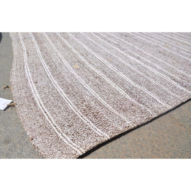 Turkish Tribal Handmade Carpet - 5′10″ × 7′2″ For Sale - Image 4 of 6