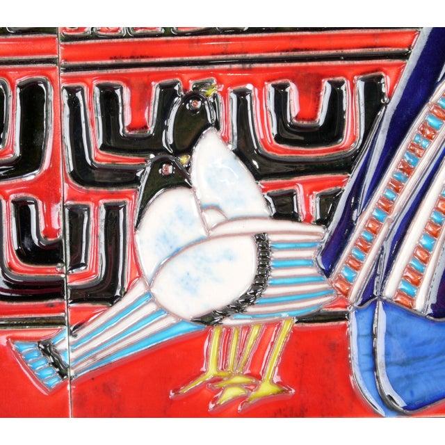 Geisha Tile Wall Art Plaque - Image 4 of 9