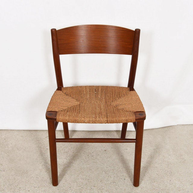 Borge Mogensen Set of 10 (2 Arm + 8 Side) Danish Teak Dining Chairs For Sale In Washington DC - Image 6 of 9