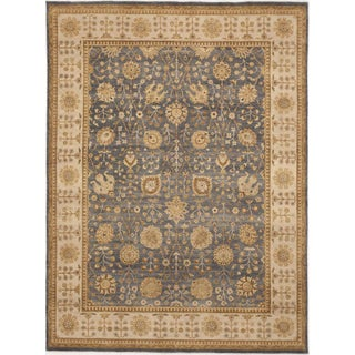 "Hand-Knotted Wool Rug - 8'10""x 11'10"" For Sale"