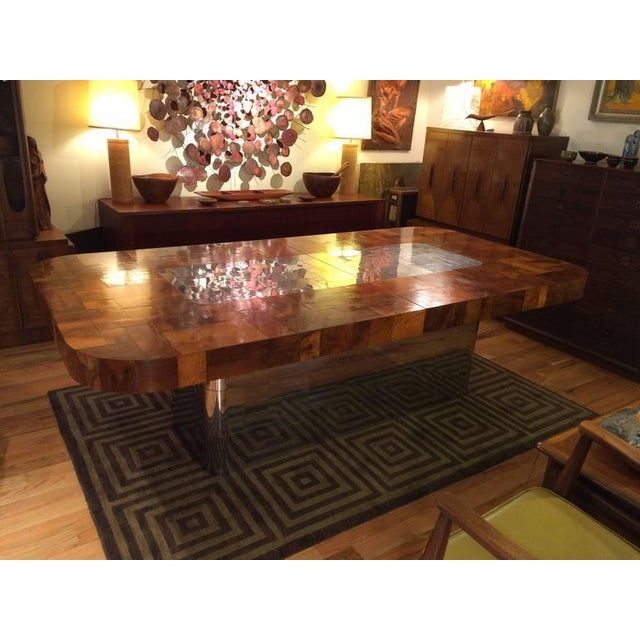 Directional Paul Evans for Directional Cityscape Dining Table For Sale - Image 4 of 11