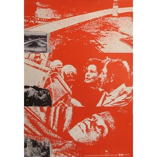1989 Original Poster for Artis 89's Images Internationales Pour Les Droits De l'Homme Et Du Citoyen - Newspaper For Sale
