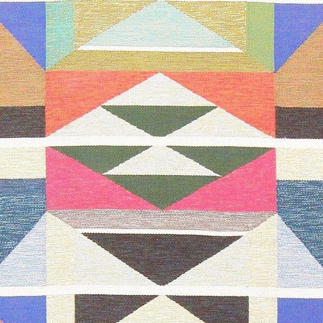 Textile Vintage Swedish Runner Rug by Agda Österberg For Sale - Image 7 of 8