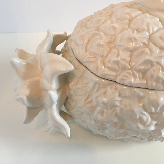 Contemporary Bordallo Pinheiro Pineapple Tureen For Sale - Image 3 of 8