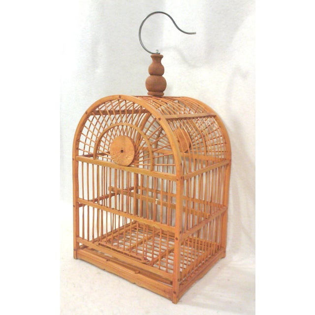 Hanging Decorative Bird Cage - Image 5 of 5