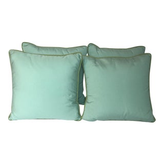 Green Thibaut Outdoor Pillows - Set of 4