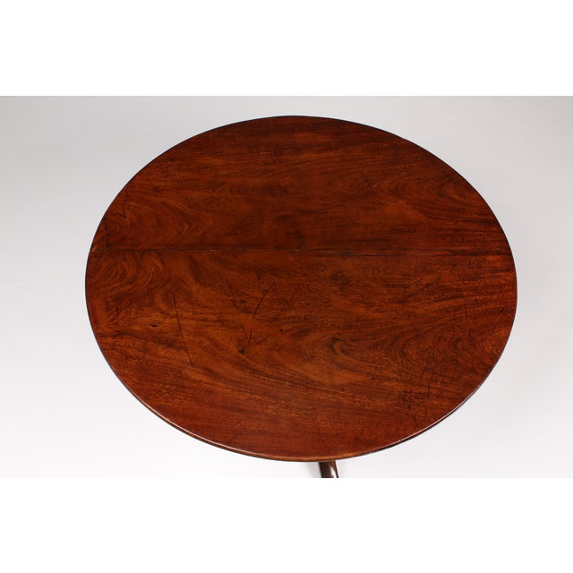 Romanian Walnut Round Side Table - Image 5 of 6