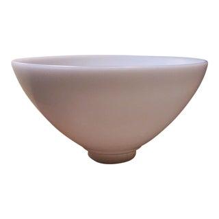 Mid-Century Milk Glass Lamp Shade