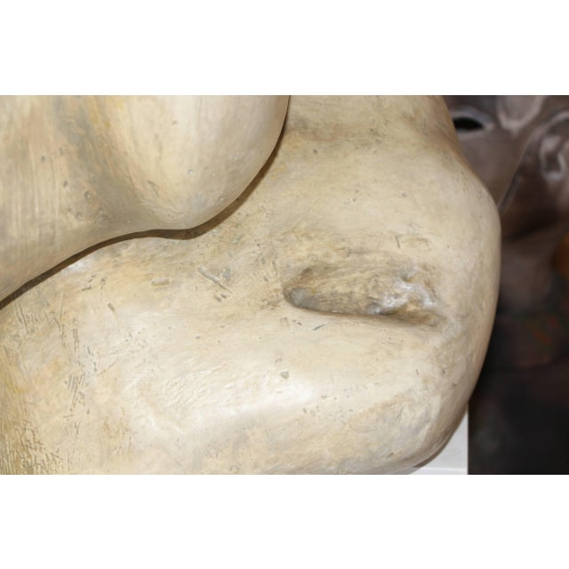A magnificent estate purchase of a plaster figurative sculpture. According to the owner who in in the 1990s it was...