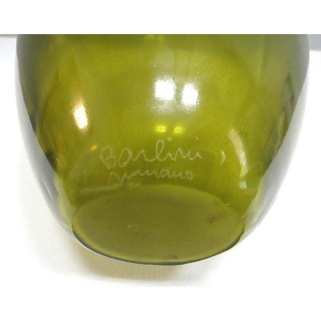 Barbini Murano Glass Vase For Sale In Miami - Image 6 of 8