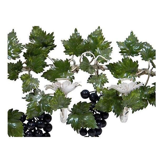 Italian Toleware Grape Candelabrum - Image 4 of 5