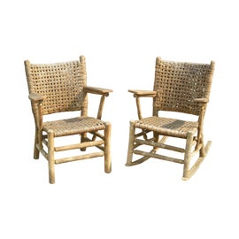 Image of Old Rocking Chairs