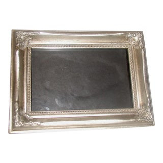 20th Century Wooden Silver Frame
