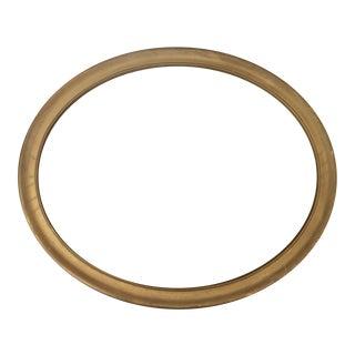 Antique Oval Wooden Frame For Sale