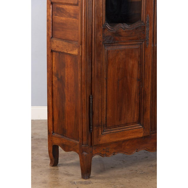 French Walnut Armoire Transition Period, 1800s - Image 8 of 10