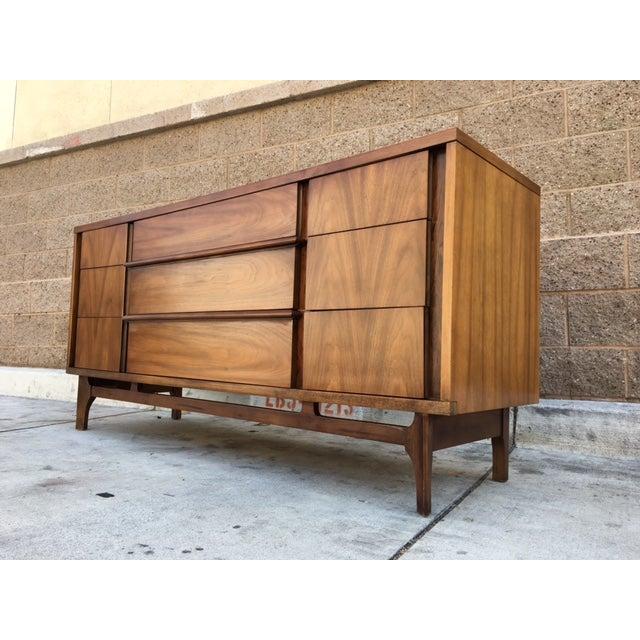 Mid-Century Walnut Dresser - Image 2 of 5