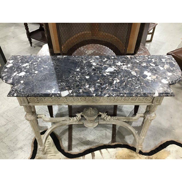 19th Century Louis XVI Style Console Table For Sale - Image 4 of 12