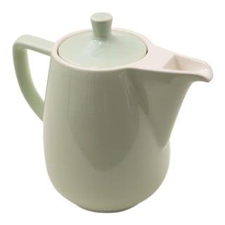 1960s Melitta Green Ceramic Coffee Pot For Sale
