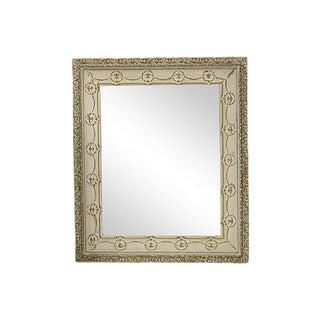 Mid-Century French Beveled Wall Mirror