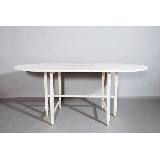 VOLK Volk Furniture St. Charles Dining Table For Sale - Image 4 of 4