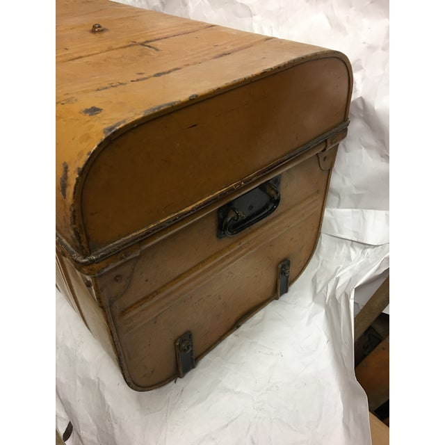 Old Victorian English Tin Trunk - Image 5 of 6
