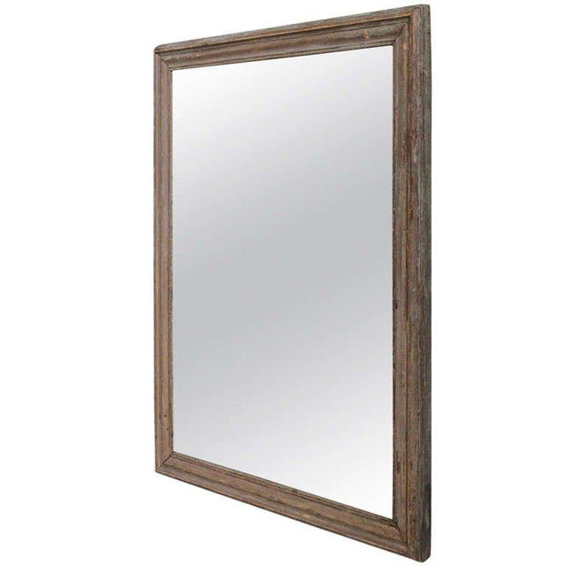 French Mercury Mirror with Wooden Back - Image 11 of 11