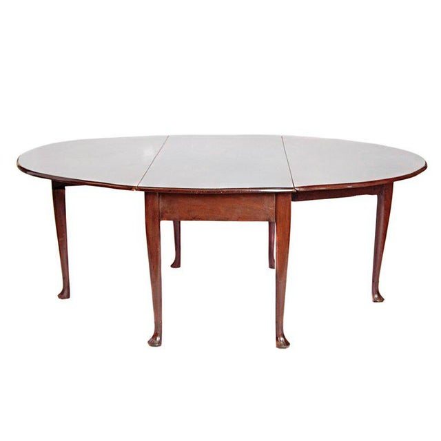George II Mahogany Dining Table With Spanish Feet For Sale - Image 13 of 13