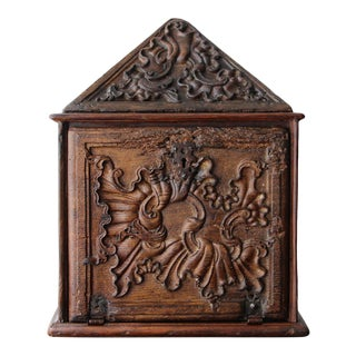 18th Century Portuguese Carved and Gilt Wood Church Tabernacle For Sale