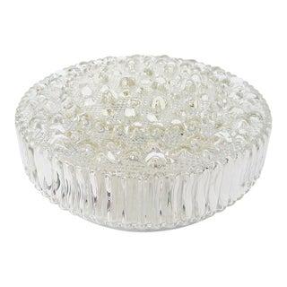 Large Mid-Century Bubble Glass Light For Sale