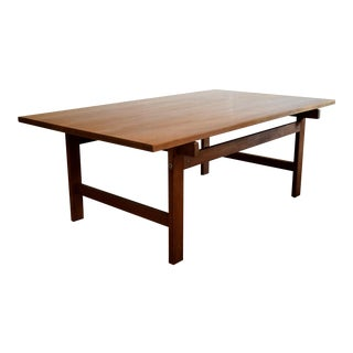 Hans Wegner Mid Century Modern Coffee Table For Sale