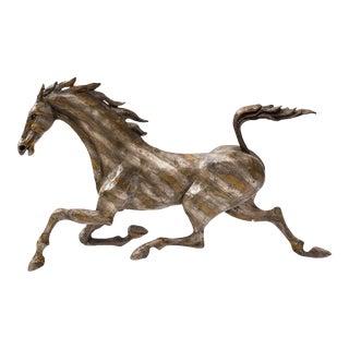 Huenergardt Bronze Running Horse Sculpture For Sale
