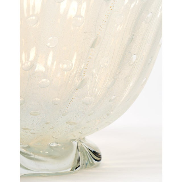 Iridescent Murano Glass Bowl For Sale - Image 9 of 9