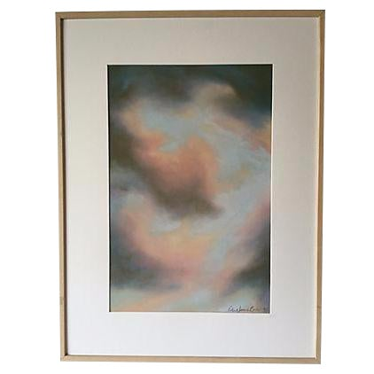 Robert Jones 'Clouds in Bali' Pastel Painting - Image 1 of 5