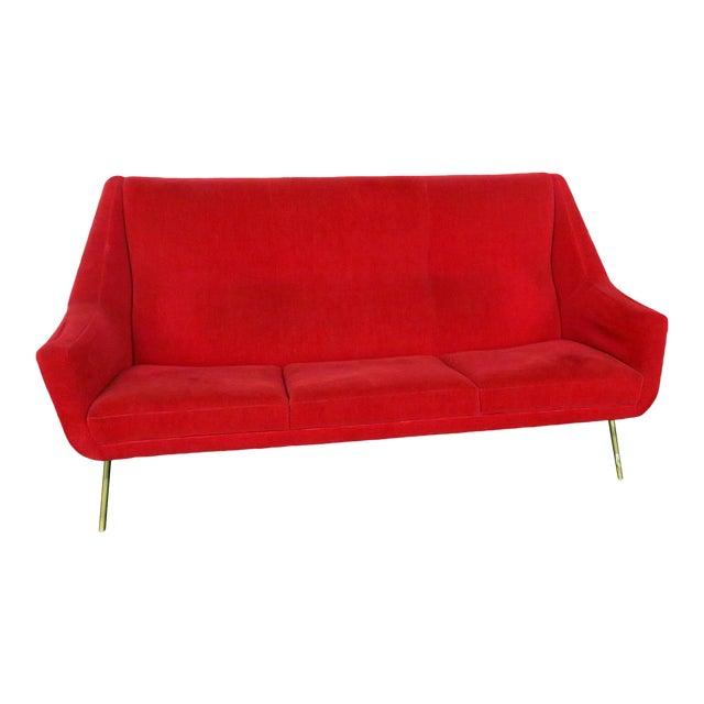 Italian Mid Century Modern Sofa