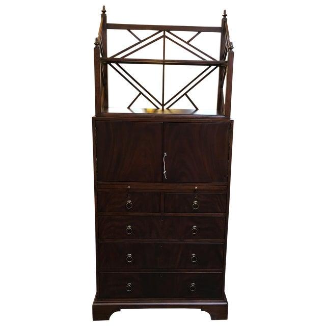 Locking English Storage & Display Cabinet - Image 1 of 10