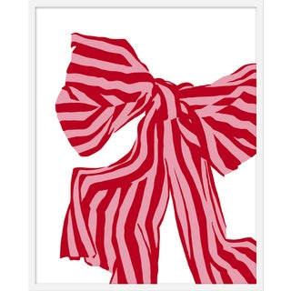 "Medium ""Red Bow"" Print by Angela Chrusciaki Blehm, 28"" X 35"" For Sale"