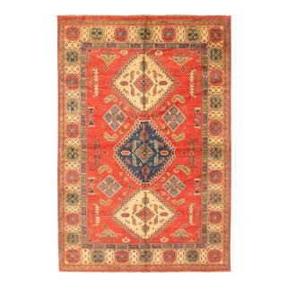Tribal Hand-Knotted Rug For Sale