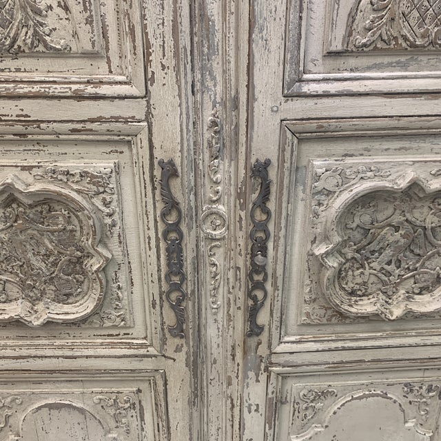 Early 19th Century Antique French Armoire For Sale - Image 9 of 11