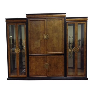 Century Furniture Large Chin Hua Entertainment Armoire For Sale