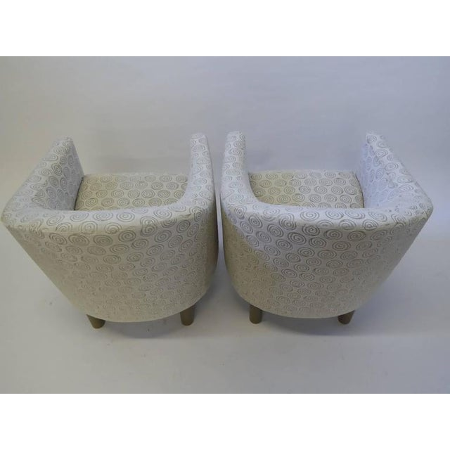 Pair of Club Chairs by Brayton International Collection - Image 4 of 5
