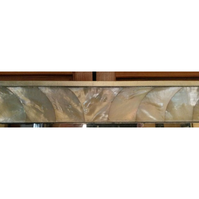 Antique Mother of Pearl Framed Mirror For Sale In West Palm - Image 6 of 6