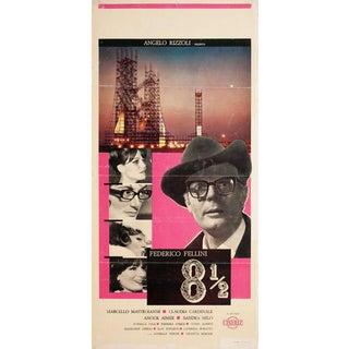 8 1/2 1963 Italian Locandina Film Poster For Sale