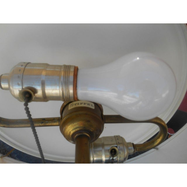 Rare 1950's Gerald Thurston For Stiffel Mid-Century Modern Atomic Age Table Lamp For Sale - Image 5 of 10
