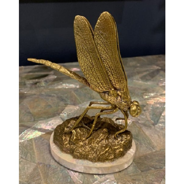 Maitland - Smith Dragonfly Business Card Holders - A Pair For Sale - Image 4 of 5