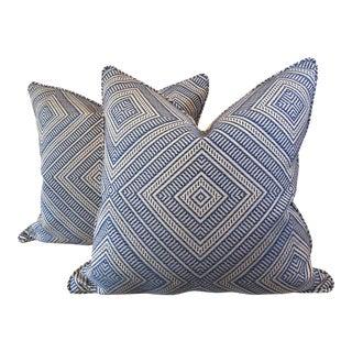 """Schumacher """"Tortola"""" Pillows - A Pair"""