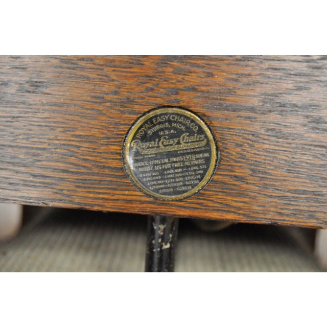 Antique Royal Easy Mission Arts Amp Crafts Reclining Lounge