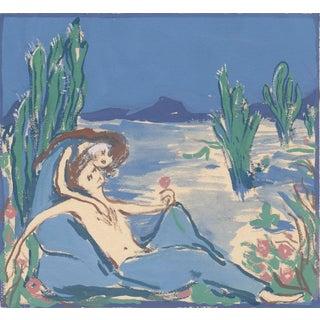 """""""Love Song"""" Desert Landscape Giclee Print For Sale"""