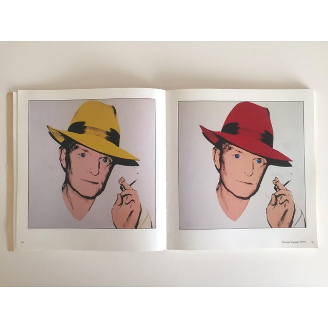 """""""Warhol Portraits of the 70's"""" Vintage 1979 Rare 1st Edition Collector's Art Book For Sale - Image 10 of 11"""