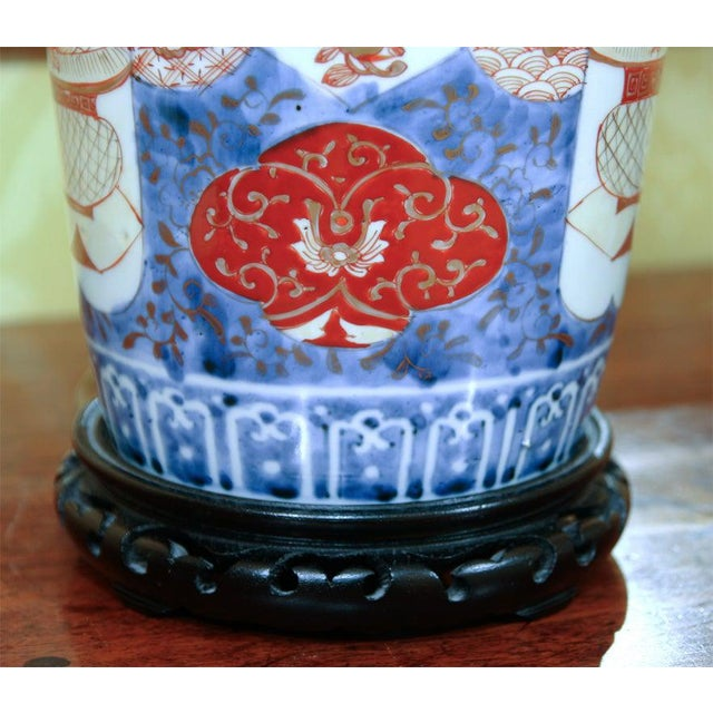 Ceramic Chinese Export Lamp For Sale - Image 7 of 10
